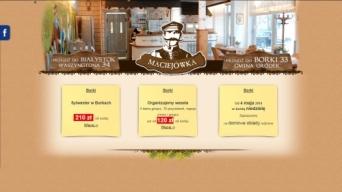 Strona internetowa Karczma Maciejówka