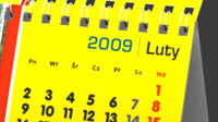 Kalendarz bindowany