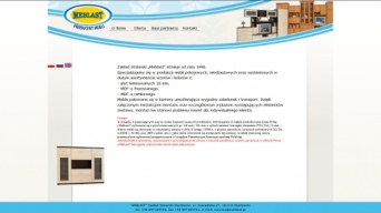 Strona internetowa Meblast
