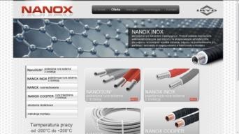 Strona internetowa Nanox