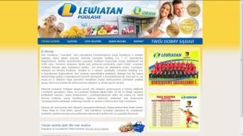 Strona internetowa Lewiatan Podlasie